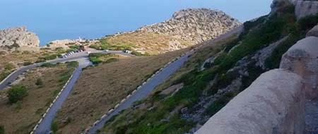 Road to Talaia d'Albercutx