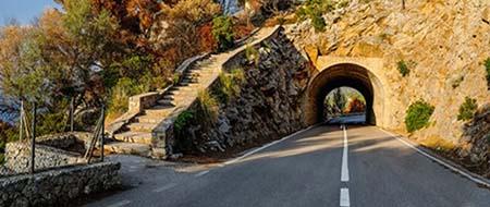 tunnel before Estellencs ma-10